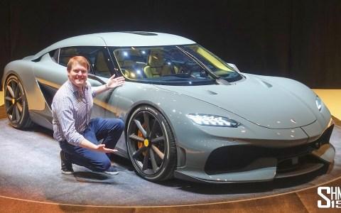 El espectacular GT de 4 plazas y motor central que se ha sacado de la manga el señor Christian Koenigsegg