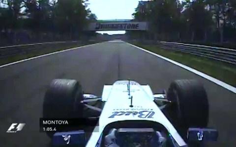 En 2004 el colombiano Juan Pablo Montoya dio la vuelta más rápida de la historia de la F1