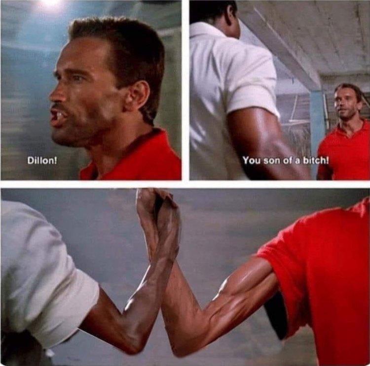 Cuando ves a tu amigo en el gimnasio después de 3 meses de cuarentena