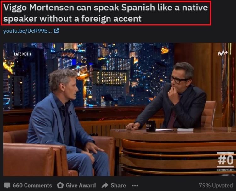 Yankis millennials descubren que Celga de Viggo Mortensen pasó su infancia en Argentina