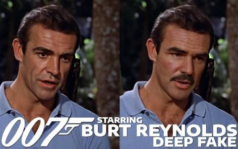 DeepFake: Si Burt Reynolds hubiese protagonizado James Bond (Dr. No) en lugar de Sean Connery