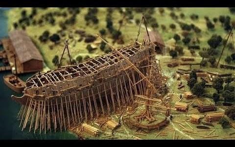 La construcción de los galeones españoles