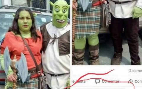 Disfraz lowcost de Fiona