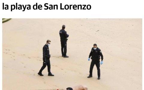 El tío al que multaban a diario por bañarse en la playa... ¿Dejó de ir? NOPE -> Cambió de playa 😂