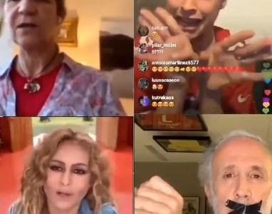 Parece una videoconferencia de Tele5