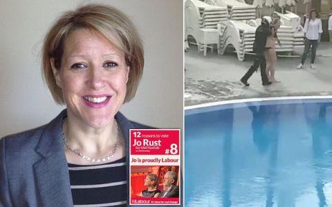 La detenida en la piscina de un hotel de Tenerife es una ex parlamentaria británica
