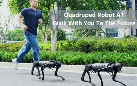 """A1, la """"copia"""" made in China de """"Spot"""", el robot cuadrúpedo de Boston Dynamics"""