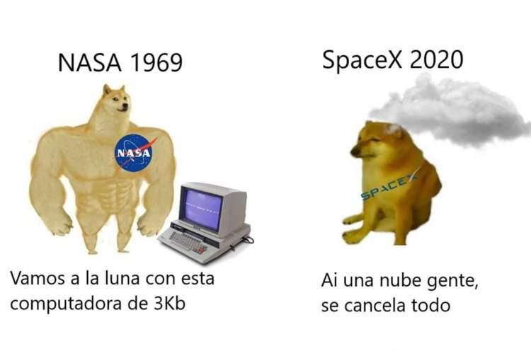 Pues nada, que al final se canceló el lanzamiento del SpaceX 2020...