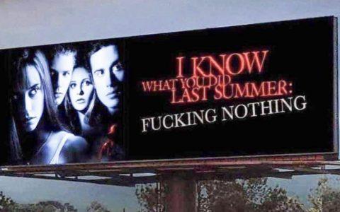 Sé lo que hicisteis el último verano: 2020 edition