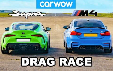 Drag Race: BMW M4 vs Toyota Supra + 5000 euros en modificaciones.