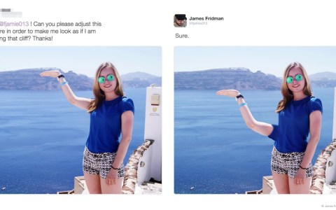 Nunca pidas ayuda con Photoshop en Internet: 40 peticiones a James Fridman