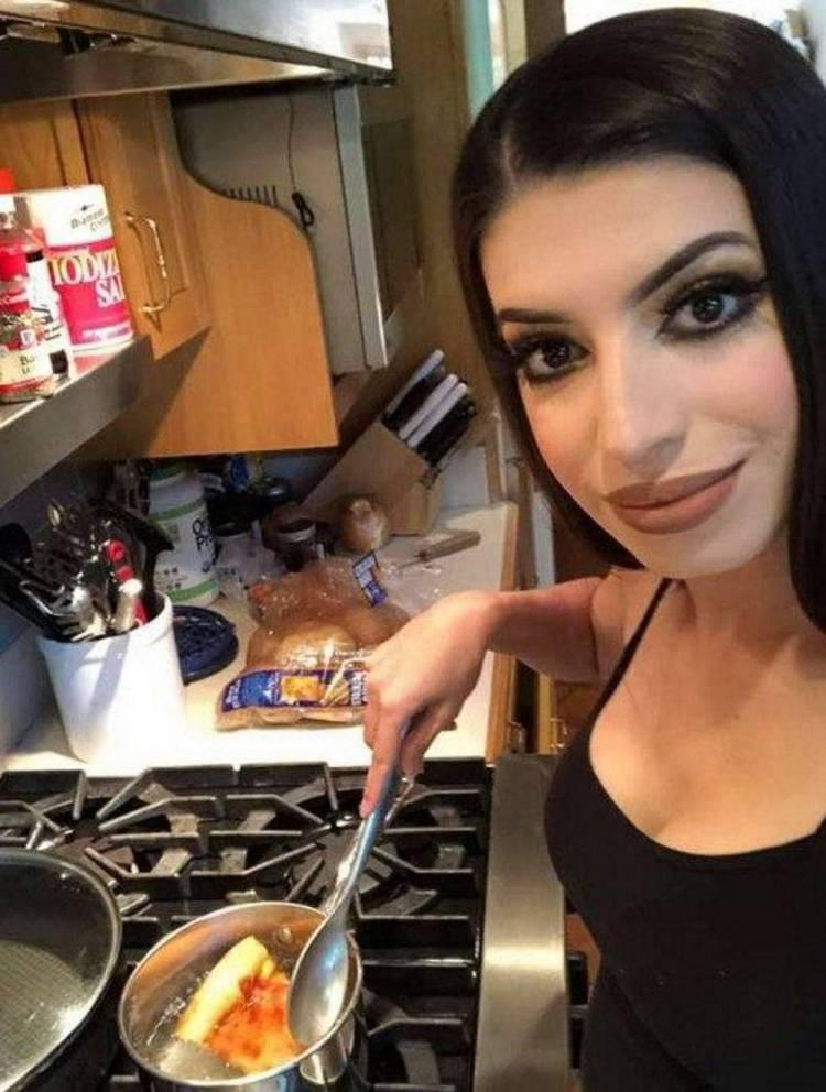 Tuve una ex cuyo nivel cocinando era básicamente éste