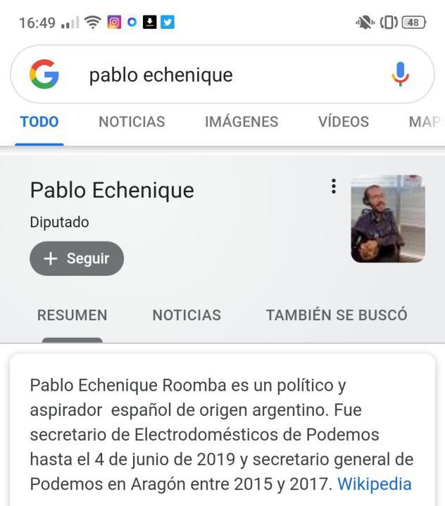 Pablo Echeni... qué?