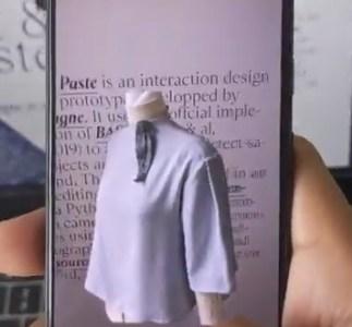 Haz copy-paste de la vida real a tu ordenador con AR Cut & Paste.