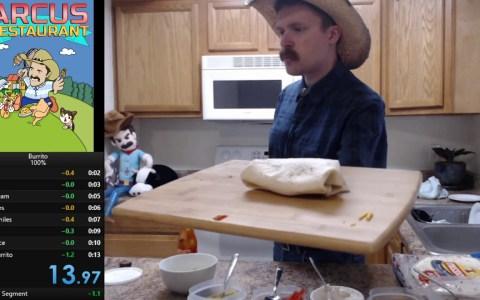 Burrito Speedrun: montando un burrito más rápido que nadie en la faz de la tierra