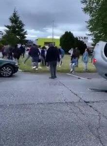 La Policía Local detiene al conductor que causó el accidente que acabó en reyerta en La Fresneda