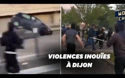 La cosa anda tensa entre Magrebíes y Chechenos en Dijón (Francia)