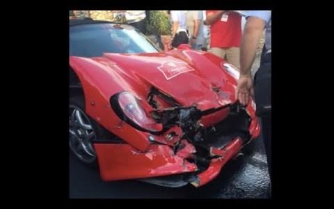 Pararé en medio de la carretera con mi Ferrari 488... ¿Qué podría salir mal?