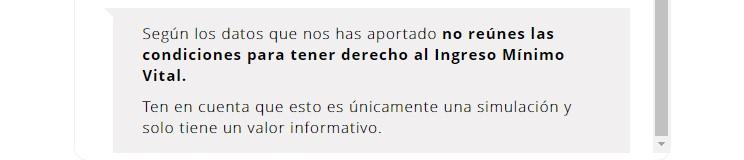 Simulador de ingreso mínimo vital: Si llevas 1 año legalmente en España y no has solicitado antes las ayudas autonómicas, NO puedes cobrarlo ¯_(ツ)_/¯