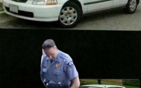 """""""¿Puede alguien ayudarme con el Photoshop para hacer el coche negro?"""""""