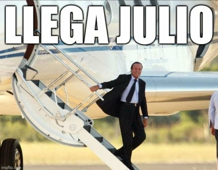 Llega Julio