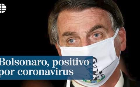 Bueno pues... tenía que pasar: Bolsonaro da positivo