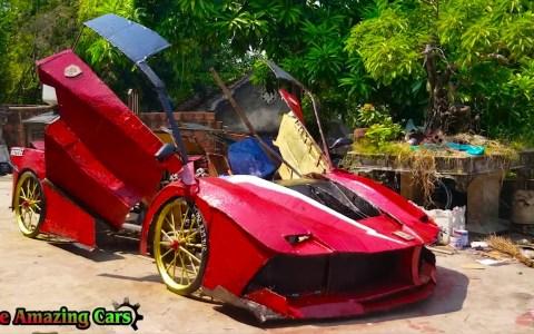 El Ferrari de cartón que haría llorar al mismísimo Pininfarina