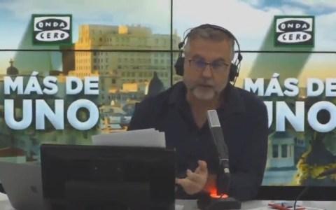 """Alsina entra en la lista de Podemos de """"peligrosos turbofachas de extrema derecha"""""""