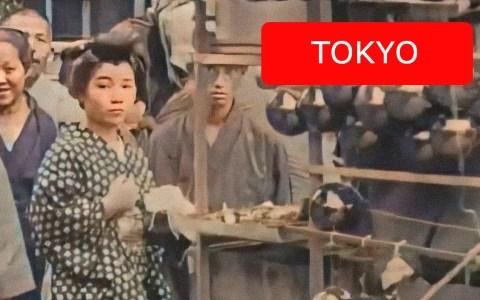 Así eran las calles de Tokio entre 1913 y 1915 (vídeo restaurado)