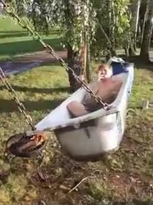 Baño calentito y relajante al estilo ruso