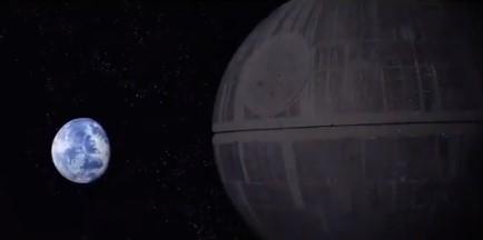 """La loca del """"habeas corpus"""", versión Star Wars."""