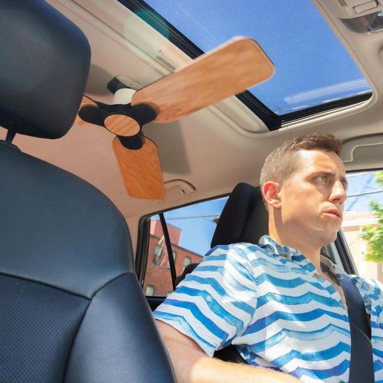 Por fin lo han inventado: el ventilador de techo para coche