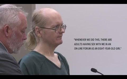 """""""No me metáis en la cárcel, me identifico con un niño de 8 años, por eso me gustan las niñas"""""""