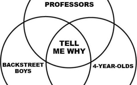 ¿Qué tienen en común los profesores de filosofía, los niños de 4 años, y los Backstreet Boys?