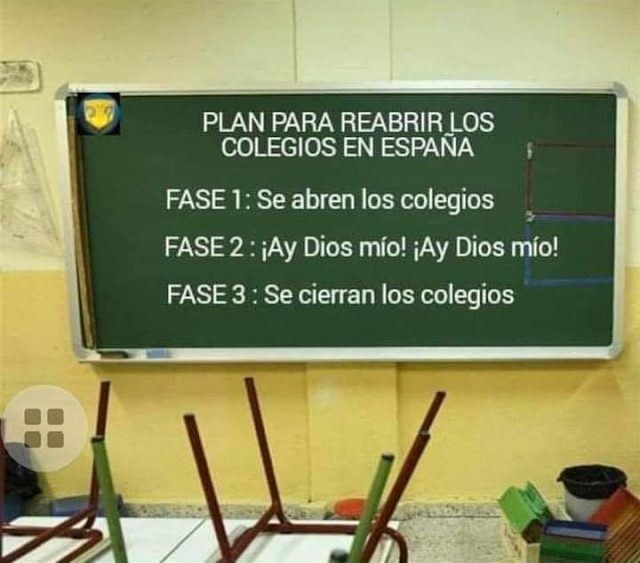 El minucioso plan de desescalada para reabrir los colegios