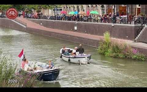 Así es como una carretera enorme se convirtió en un canal en la ciudad de Utrecht