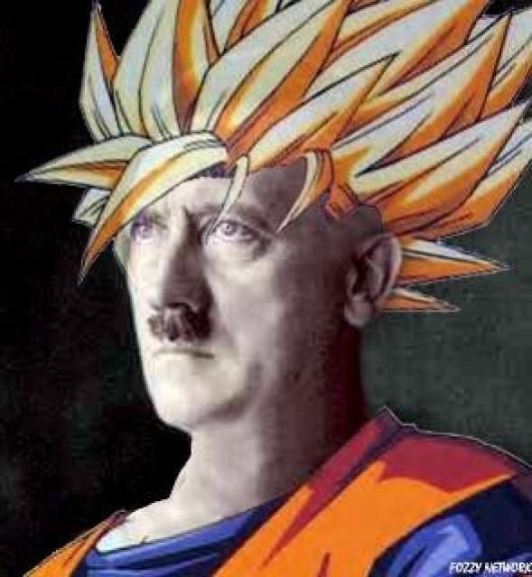 ¿De pequeño te gustaba Dragon Ball? Pues... ERES HITLER