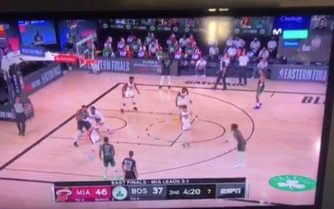 Anoche el comentarista de la NBA soltó esta perlita en directo
