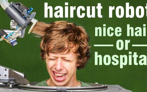 El robot que podría dejar en paro a todos los peluqueros en un futuro no muy lejano...