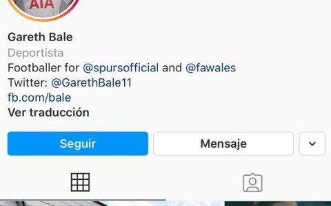 Bale, creo que ya sé quién es...