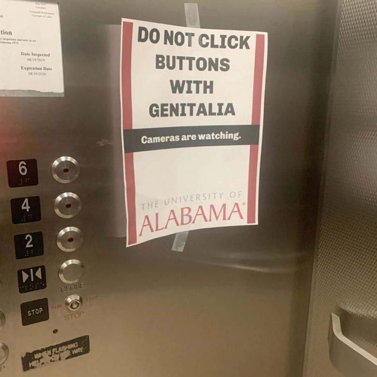 Chicos, dejad de darle a los botones del ascensor con el nepe, pofavo