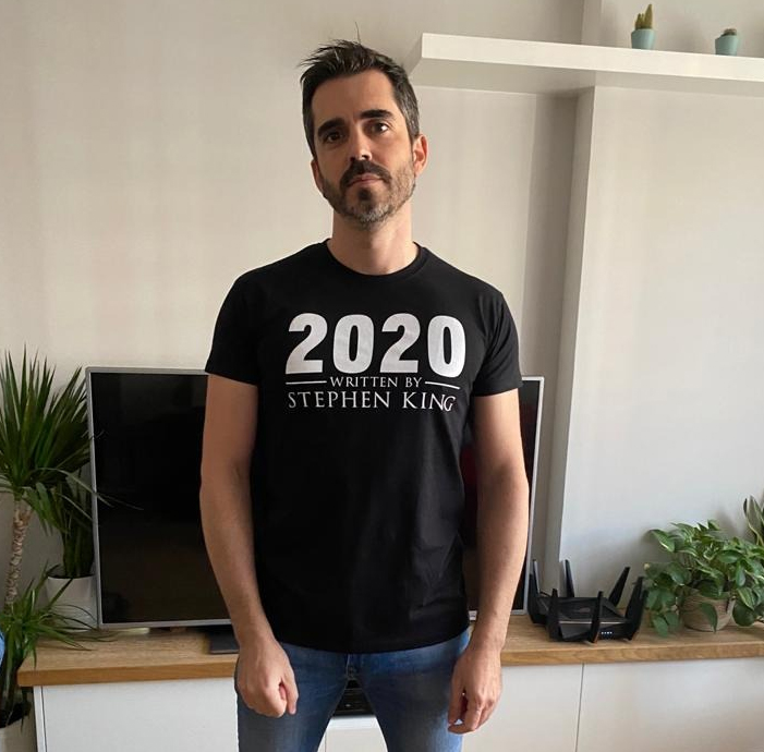 Camiseta 2020 - Written by Stephen King