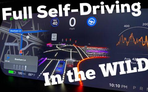 El primer Tesla con piloto 100% automático