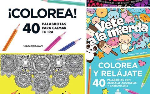 Insultos para colorear: el método de relajación que estabas esperando