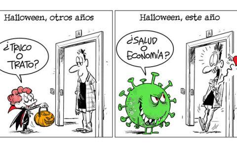 Halloween de susto o muerte