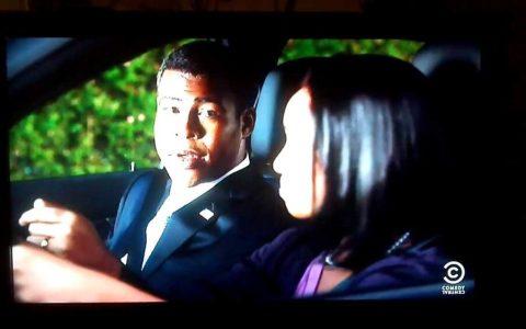 Obama enseña a su hija a conducir