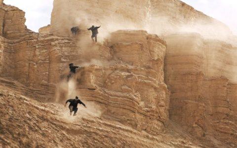 ¿Parkour en el desierto? Sep, parkour en el desierto