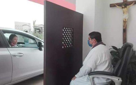 Confesionario de coches