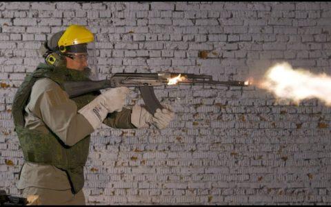 ¿Cuántas balas hay que disparar para que una AK empiece a arder?