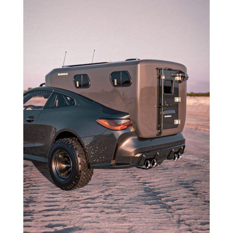 Y hoy, en aberraciones sobre ruedas... BMW M4 Caravaning Biturbomierder